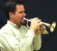 Chris Cox of the Pacific Brass