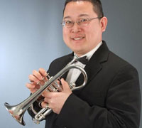 Charles Shue of the Indiana Wind Symphony