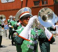 Marching Mello in Action