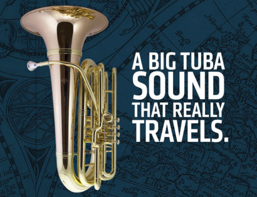 Up, up and away with the new Kanstul Flying Tubas