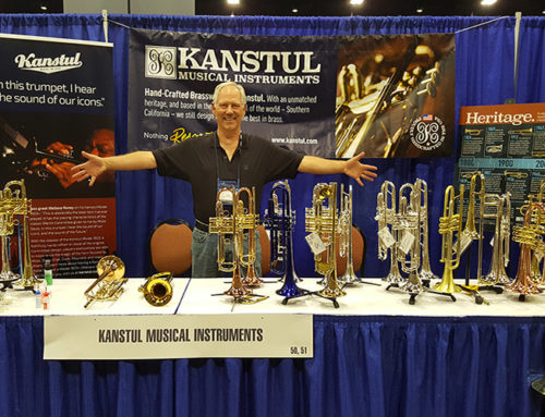 The sound of Kanstul shows at the 2017 ITG Conference