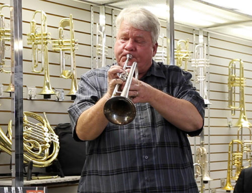 Paul Kurtz, International Educators' Hall of Fame inductee, stops by the Kanstul factory to talk Braille music and the sensory evaluation of trumpets